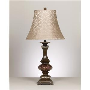 Signature Design by Ashley Lamps - Traditional Classics Rosemary Poly Table Lamp