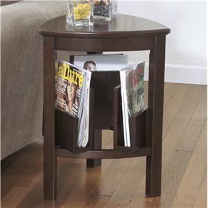 Signature Design by Ashley Larimer Triangle End Table