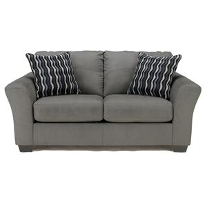 Signature Design by Ashley Furniture Lexi - Cobblestone Love Seat