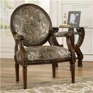 Signature Design by Ashley Furniture Martinsburg Showood Accent Chair
