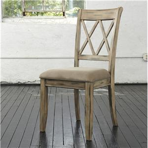 Signature Design by Ashley Mestler Dining UPH Side Chair
