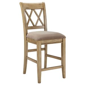 Signature Design by Ashley Mestler Upholstered Barstool