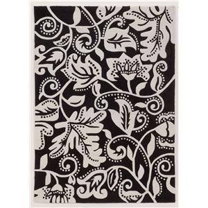 Signature Design by Ashley Furniture Contemporary Area Rugs Ashton - Black Rug