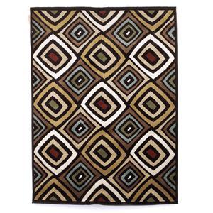 Signature Design by Ashley Furniture Contemporary Area Rugs Rhombus - Multi Medium Rug