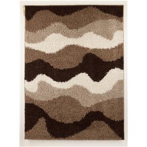 Signature Design by Ashley Furniture Contemporary Area Rugs Kipri - Java Medium Rug