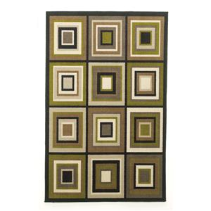Signature Design by Ashley Furniture Contemporary Area Rugs Chari - Lime Small Rug