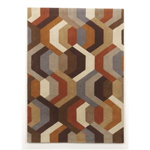 Signature Design by Ashley Contemporary Area Rugs Galaxy - Multi Medium Rug