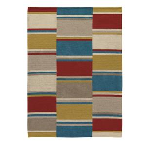 Signature Design by Ashley Contemporary Area Rugs Flatweave - Multi Medium Rug