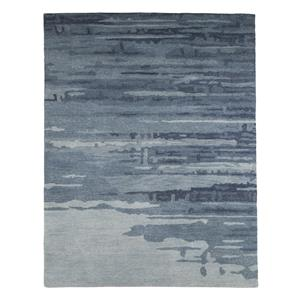 Signature Design by Ashley Contemporary Area Rugs Patterned - Blue/Gray Large Rug
