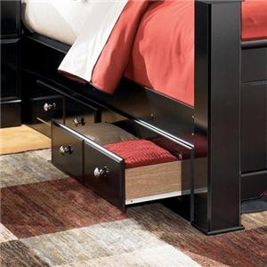 Signature Design by Ashley Shay Queen/King Bed Storage