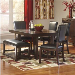 Broyhill Furniture Attic Heirlooms 7 Piece Dining Set