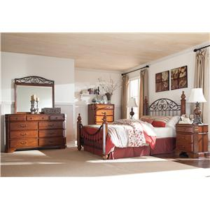 Signature Design by Ashley Wyatt Queen Bedroom Group