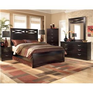 Signature Design by Ashley X-cess 4 Piece Bedroom Group