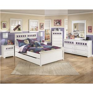 Signature Design by Ashley Furniture Zayley Full Bedroom Group