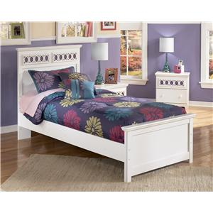 Signature Design by Ashley Furniture Zayley Twin Panel Bed