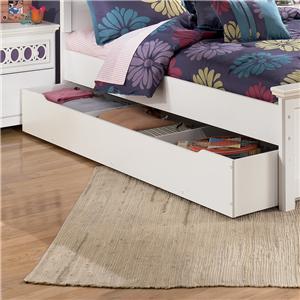 Signature Design by Ashley Furniture Zayley Trundle Storage Box