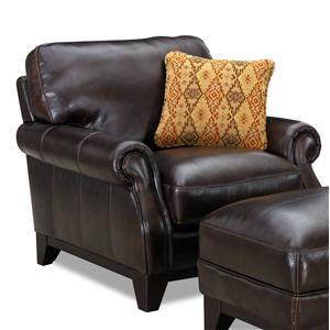 Simon Li 6973 Rolled Arm Chair