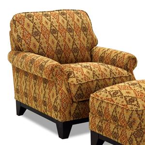 Simon Li 6973 Rolled Arm Accent Chair