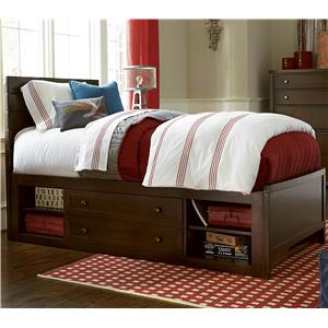 Smartstuff Freestyle Full Reading Bed with Underbed Storage