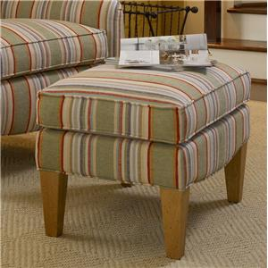Smith Brothers 994 Upholstered Ottoman