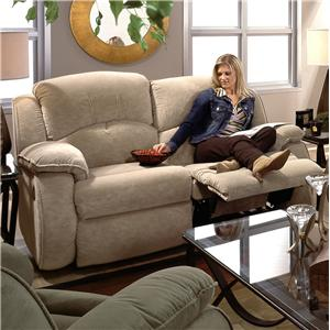 Southern Motion Cagney Powerized Double Reclining Loveseat