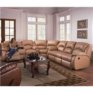 Southern Motion Cagney Sectional Sofa