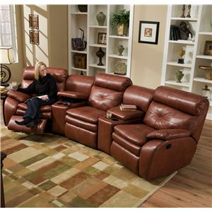 Southern Motion Jitterbug Three Seat Sectional