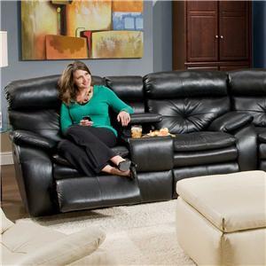 Southern Motion Jitterbug  Console Sofa