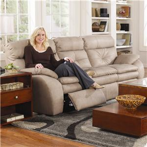 Southern Motion Jitterbug Double Reclining Sofa with Power