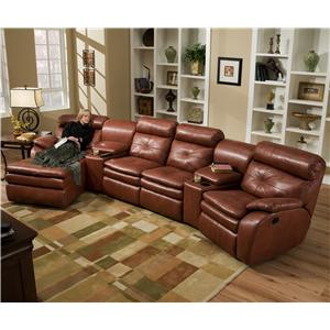 Southern Motion Jitterbug Four Seat Sectional
