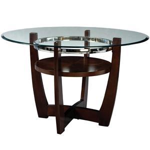 Standard Furniture Apollo Round Glass Table