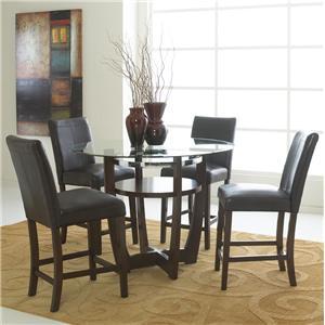 Standard Furniture Apollo 5 Piece Pub Table Set