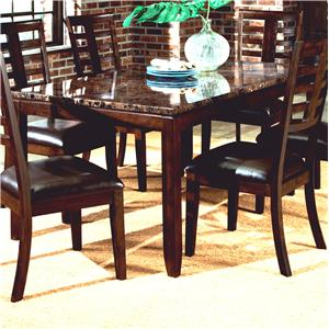 Standard Furniture Bella Rectangular Leg Table