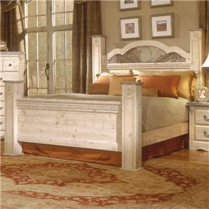 Standard Furniture Seville Queen Poster Bed