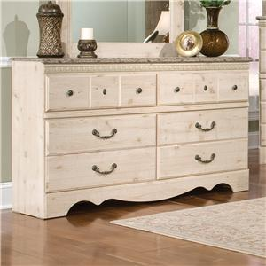 Standard Furniture Seville 6 Drawer Dresser