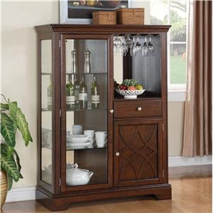 Standard Furniture Woodmont Display Curio