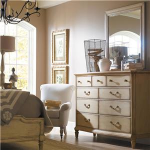 Stanley Furniture The Classic Portfolio - European Cottage Dresser with Mirror