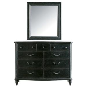 Stanley Furniture The Classic Portfolio - European Cottage Dresser with Mirror