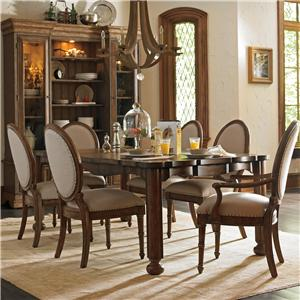 Stanley Furniture European Farmhouse 7 Piece Set