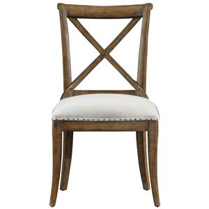 Stanley Furniture European Farmhouse Fairleigh Fields Guest Chair