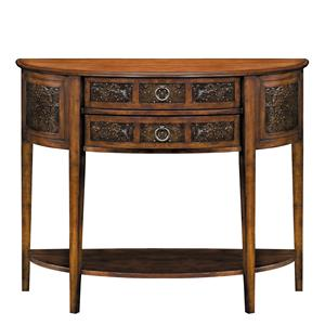 Stein World Accent Tables Demilune Console Table