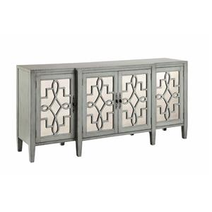 Stein World Cabinets Mirrored Credenza