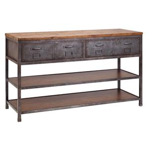 Stein World Cabinets Brownstone Console