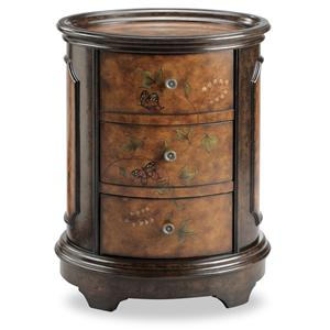 Stein World Chests Oval Accent Table