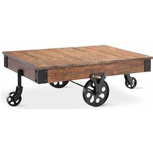 Stein World Poplar Estate Cart Cocktail Table
