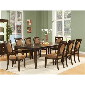 Steve Silver Montblanc 5Pc Dining Room