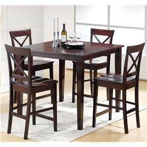 Steve Silver Cobalt  5 Piece Pub Table & Chair Set