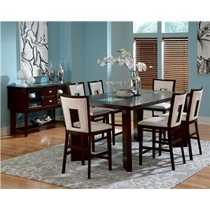 Steve Silver Delano 7-Piece Pub Table Set