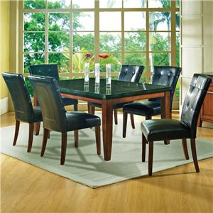 Steve Silver Granite Bello 7-Piece Dining Set