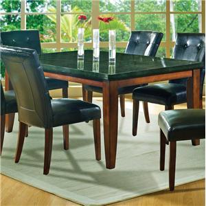 Steve Silver Granite Bello Granite Top Leg Table
